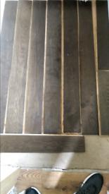 Dark Oak Real wood flooring 1x1 sq meter
