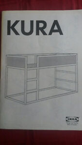 IKEA KURA Reversible Kids Loft Bed