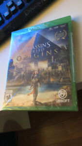 XBOX ONE game  --- Assassin's Creed: Origins