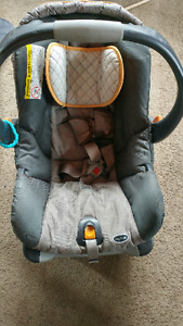 Baby car seat rear facing