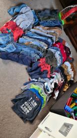 2-3 and 18-24 month clothes pj and vest bundle