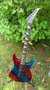 Series A Electric Guitar with Floyd Rose Bridge System $250