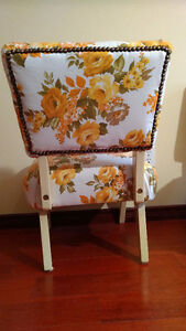 Retro vintage accent chairs