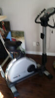 Mint condition computerized programmable exercise bike