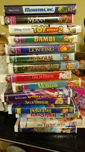 15 VHS Disney collection movies, $30