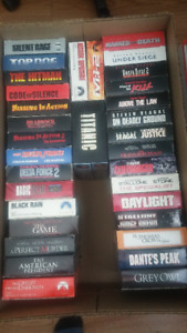 Large VHS Collection (356) - All Genres - Great Quality - Rare