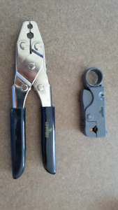 Never used Leviton Coaxial crimper and cutter