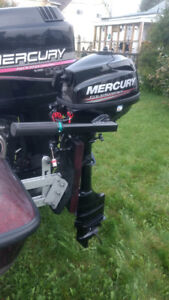 Merc 3-1/2 hp four stroke long shaft