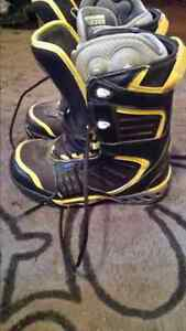 Ltd snowboard boots with DC air pimp liners $50 obo
