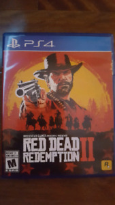 Red Dead Redemption 2   Ps4  $80 OBO