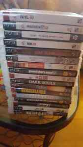 Ps3 console 160gb bundle with 17 games