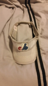 Boston Red Sox  and Montreal Expos visors