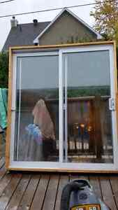 Porte patio 6p usage à vendre