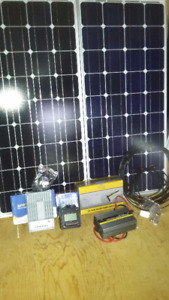 200w Solar panel kit with MPPT@ NSOffGrid.ca