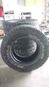 "33 "" goodyear wranglers for 17 "" rims Sarnia Sarnia Area image 1"