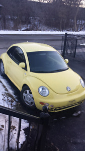 1999 VW Beetle for sale(Yellow)