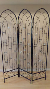 Wedding candle room dividers