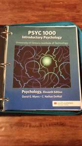 UOIT Introductory Psychology Textbook