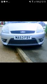 Fiesta st150 complete front bumper