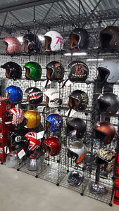 CASQUES CAFE RACER OPEN FACE RETRO HELMETS BELL TORC ZOX CKX
