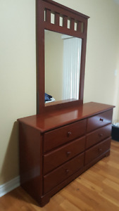 Bedroom Set ++mattress and box spring and frame