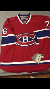Autographed PK Subban Montreal Canadians Jersey