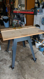Radial Saw and table