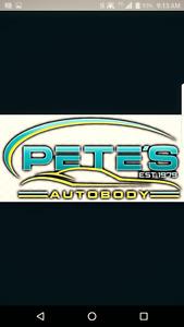 Pete's Mobile auto body