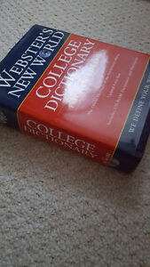 College Dictionary Barely Used