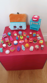 Shopkins toys 30+ & plush keying all for £5