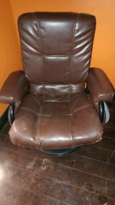 Swivel and lay back chair