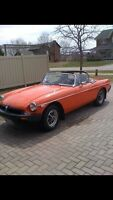 1975 MGB - Roadster Mint condition