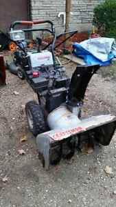 "Craftsman Snowblower 8.5HP/27"" Works Great Cambridge Kitchener Area image 1"