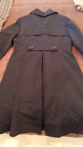 Blk Mossimo Spring/Fall Pleated Coat with Pockets $25 Belleville Belleville Area image 3
