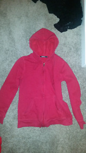 Never worn red hoodie size small