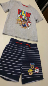 5T Boys Paw Patrol set...BRAND NEW WITH TAGS