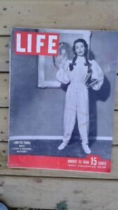 Saturday Evening Post and Life Magazines