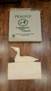 Wooden Duck Sign