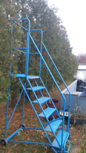 "Canway 6 step Ladder 96"" Safety Ladder"
