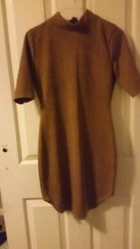 Tan/brown dress