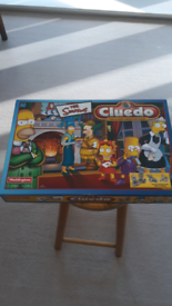 The Simpsons Cluedo Game