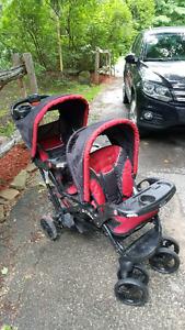 Babytrend double stroller