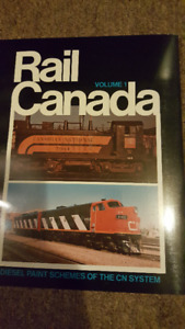 Rail Canada Volume 1 to 5 complete set CN CP Rail Paint Schemes