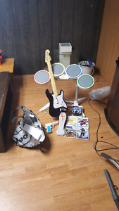 Wii for sale with rockband