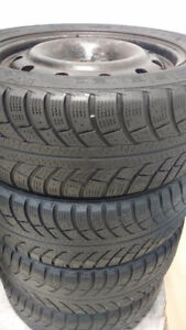 205/55r16 Gislaved Nord Frost 5 with RIMS