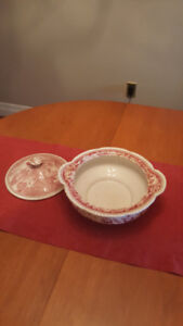"""ENGLISH PEARL POTTERY TUREEN WITH LID """"PRICE REDUCED""""!"""