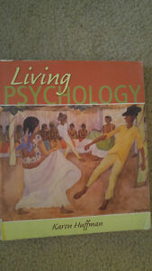 Living Psychology by Karen Huffman with study guide book