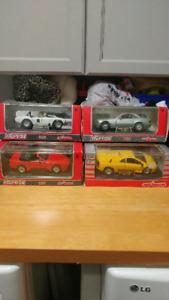 Majorette club 1/24 die cast cars