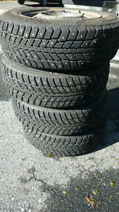 Studded winters on rims 185/70/R14