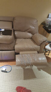 3 PIECE RECLINER FREE MUST GO NOW